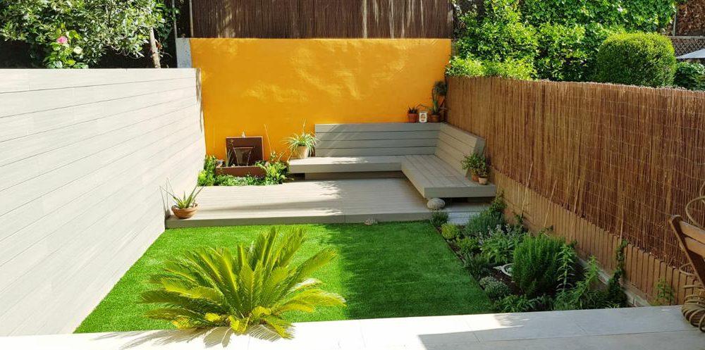 jardin casa barcelona
